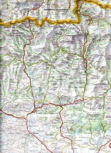 Map of the trip area