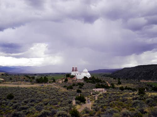 The chapel from the mesa top