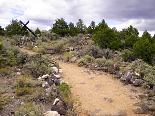 Trail on the mesa
