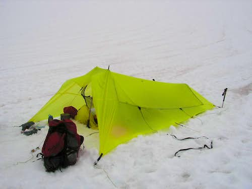 Bivy on Challenger Arm