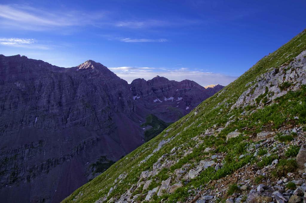 Route to SE Ridge