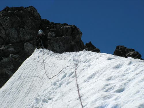 Descending Arete