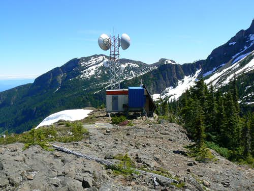 Communication Station on Mt Adrian