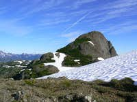 Mt Adrian Above South Summit