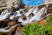 Indian Peaks Wilderness, Lake Isabelle waterfall