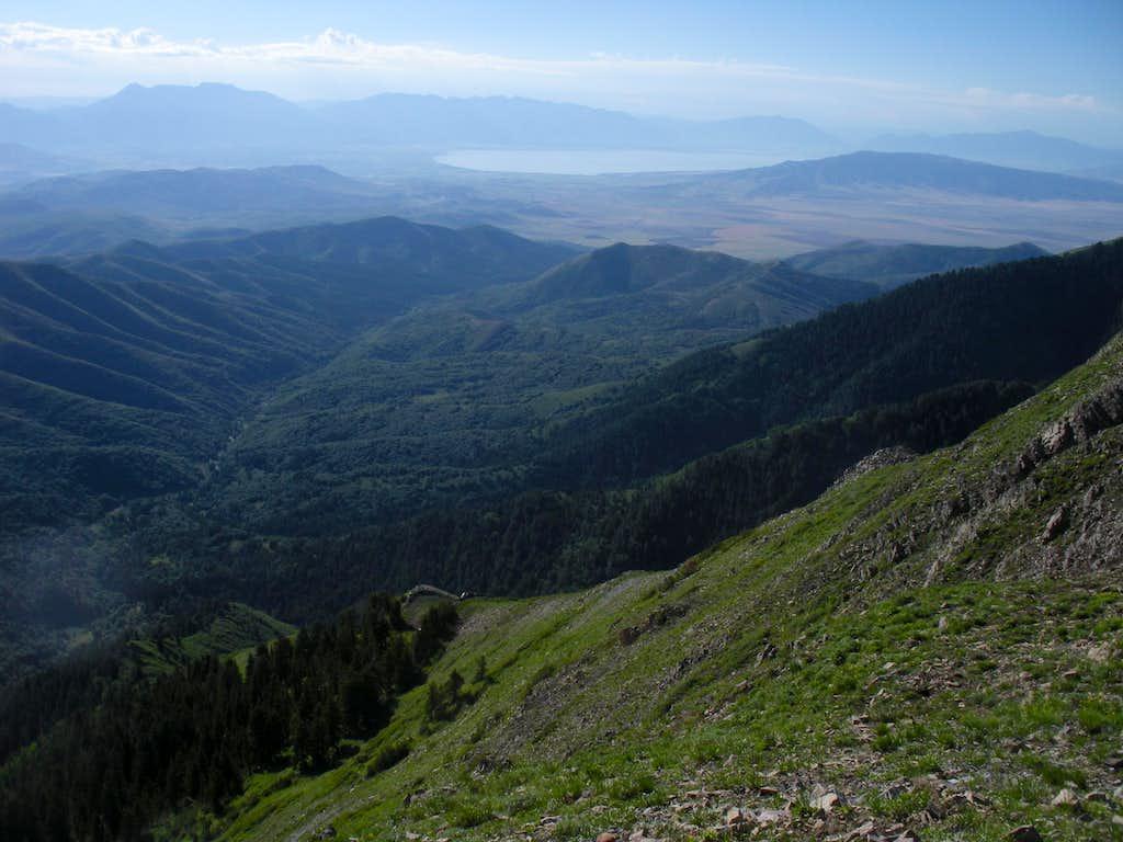 Utah Lake from Kelsey