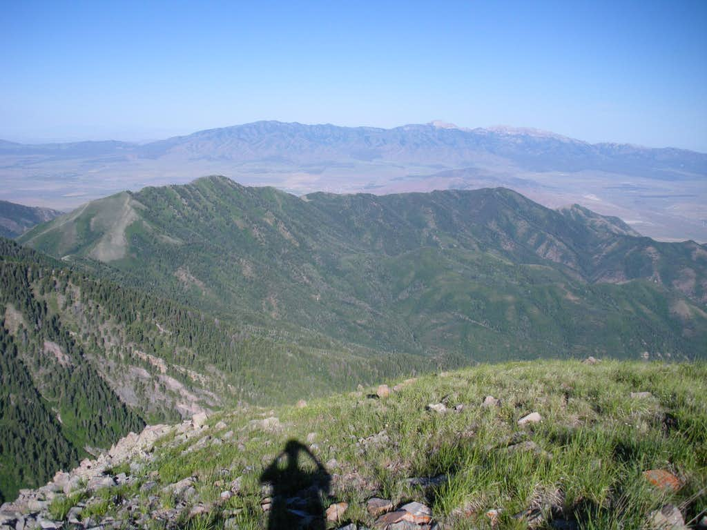 Stansbury Range from Kelsey