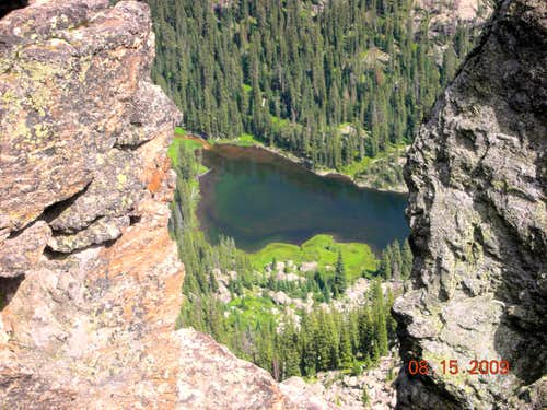 Long Lake from Mount Irving Hale