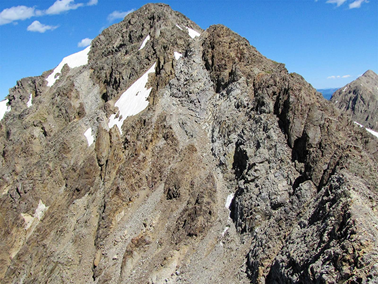 Tellurium, A Rugged Peak Whose Summit I Could Not Reach