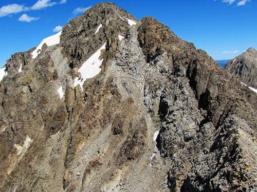 Tellurium, A Rugged Peak Whose Summit I Could Not Reach