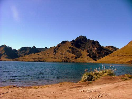 Cerro Negro from Mojanda.