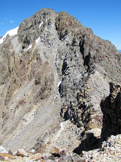 Southern face of Tellurium Peak