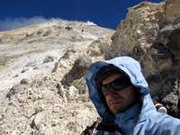 Damavand Peak Self-Portrait