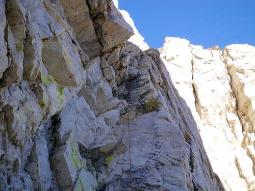 First pitch of North Arete