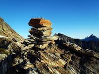 Cairn on Sloan Peak