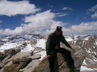 Mt Tyndalls Summit