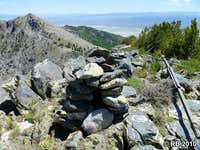 Green Mountain summit cairn