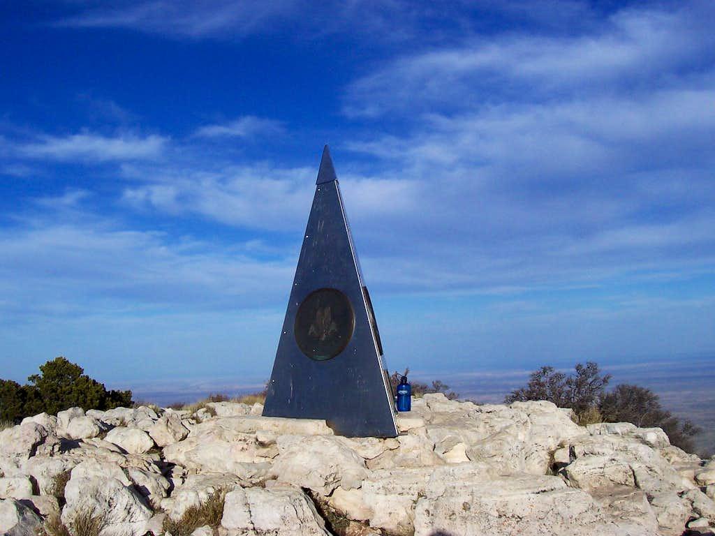 Summit of Guadalupe Peak!