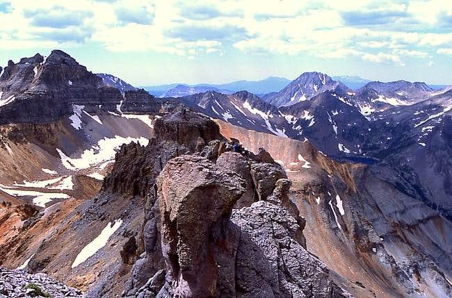 Ridge top view depicting...