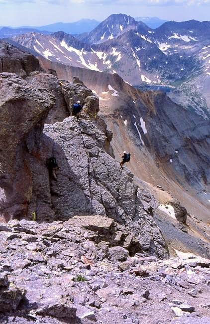 CMC climbers prepare to...