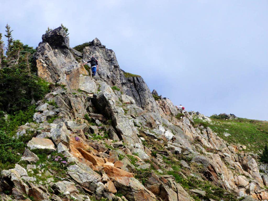 Two Hikers Scramble