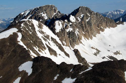 Sawtooth Mountain, Wolf Mountain, and Sawtooth Peak #3