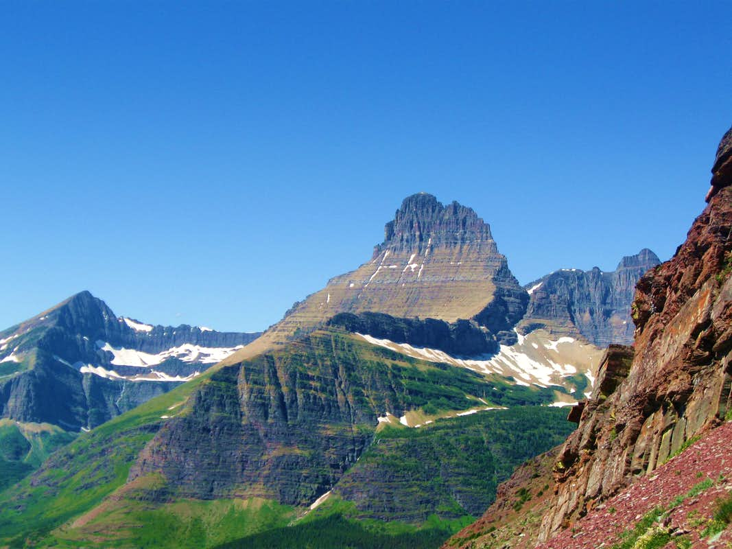 The Great Shield of Glacier National Park