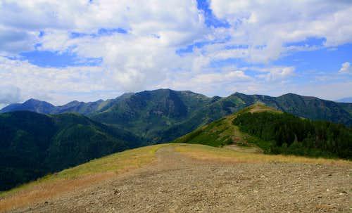 West Mountain summit view