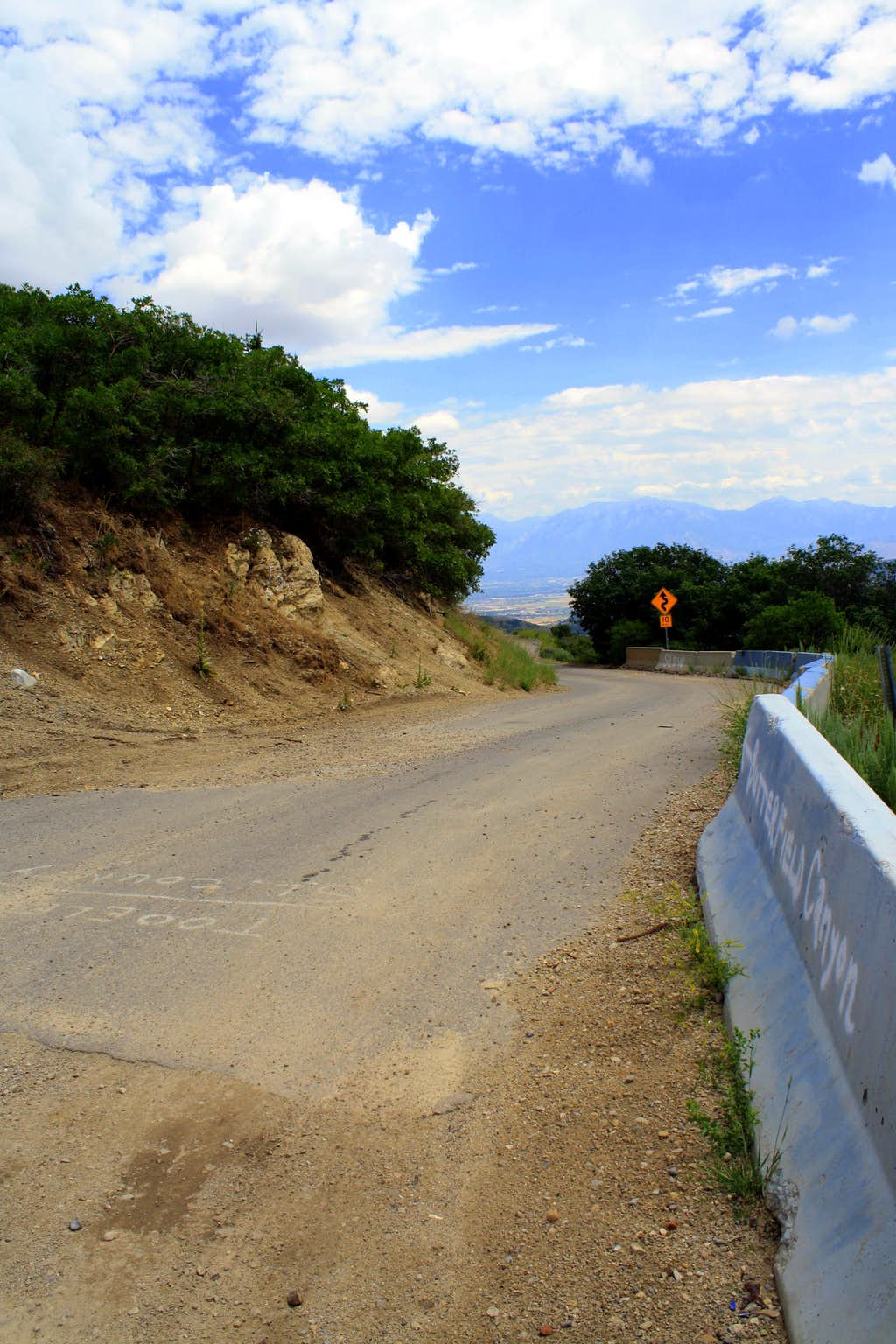 Butterfield Canyon road