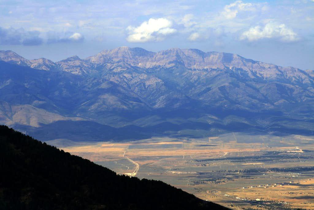 Deseret Peak from West Mountain