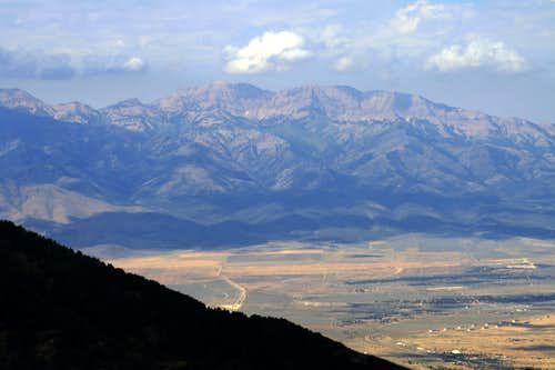 Deseret Peak from West Mountain