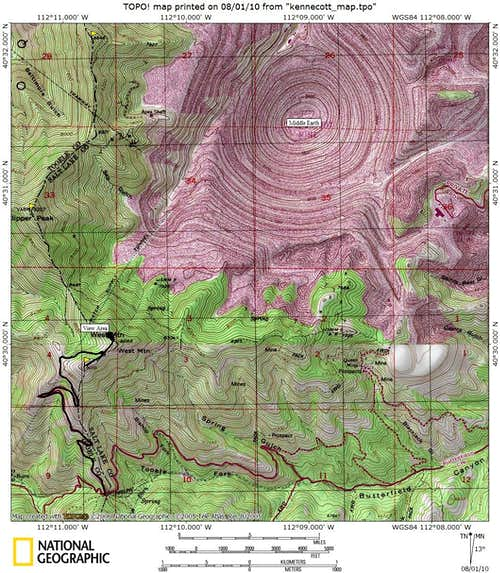 West Mountain Map