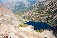 Rock Creek Lake from a little...