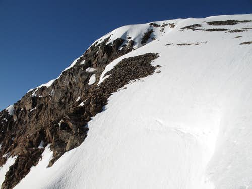 Iceberg Peak, Summit