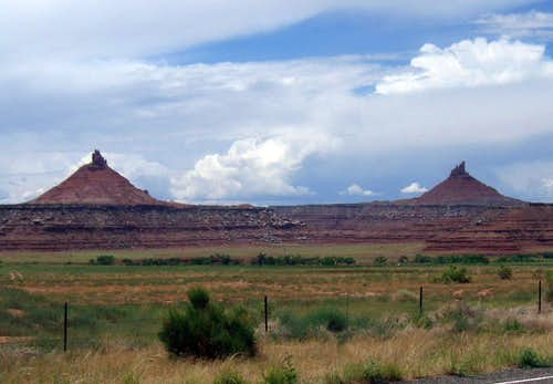 On the way to Canyonlands NP