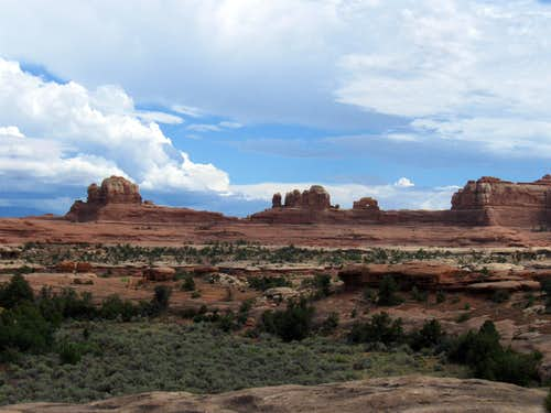 In the Needles district of Canyonlands NP