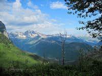 Heavens Peak and the Glacier Wall
