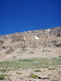 The south face of Siyeh