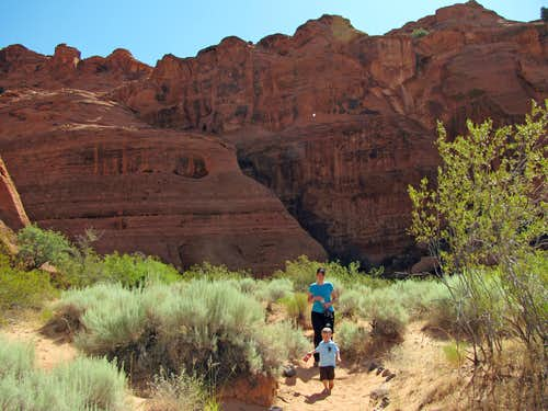 Jenny\'s Canyon trail