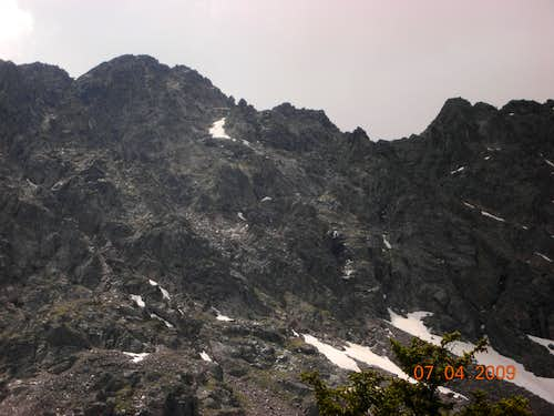 Mount Neva\'s North Ridge