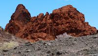 Rock fortress at Valley of Fire