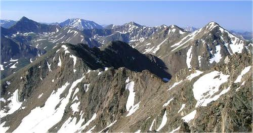 The Central Sawatch Range...