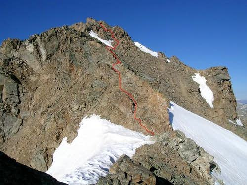 Deer Mountain\'s final summit...