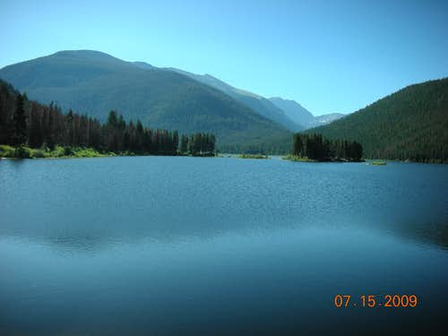 Mount Achonee from Monarch Lake.