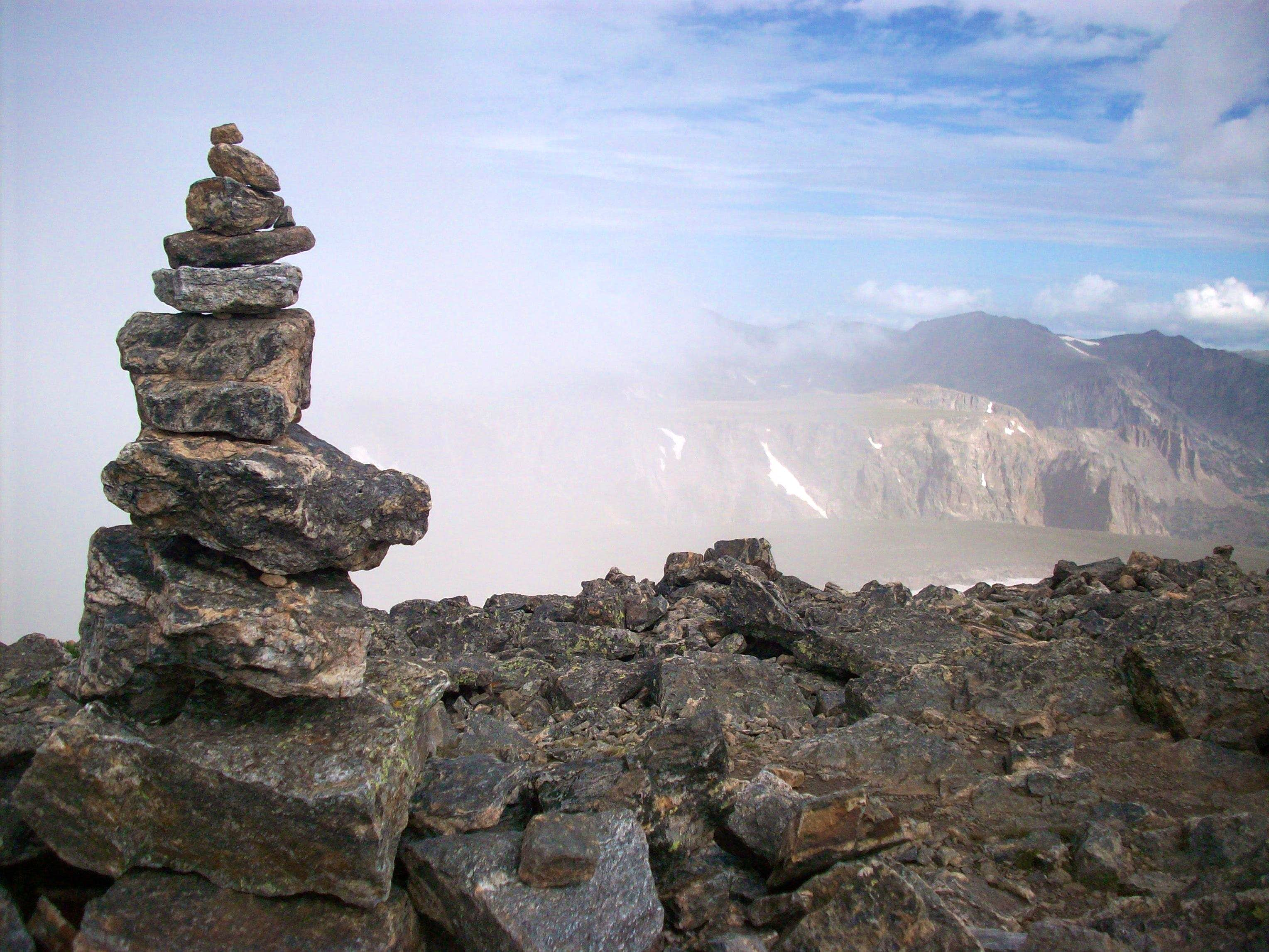 Building a useful cairn