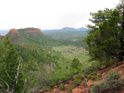 View back to Bear Ear West (pic 12)