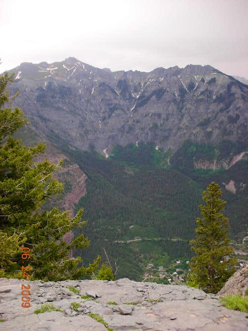 Amphitheater from twin peak.