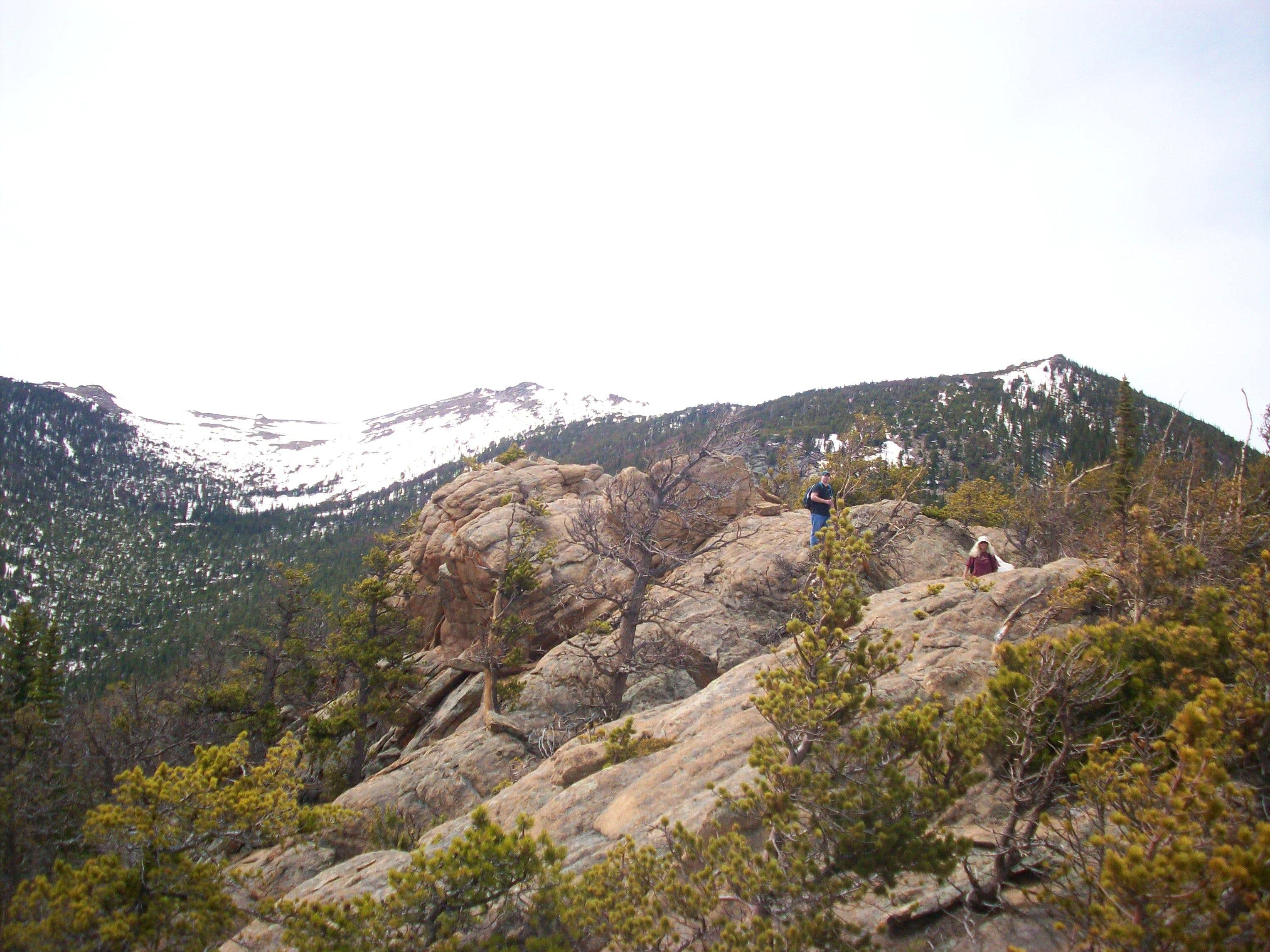 West slope from Ute Meadows