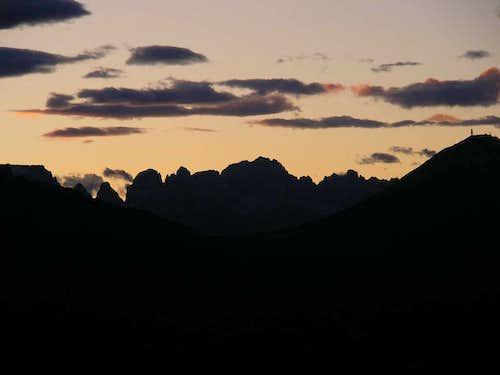 Sunset on Brenta
