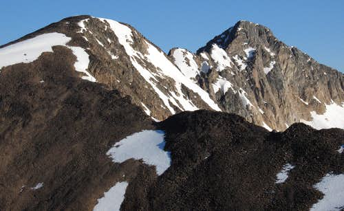 Sawtooth Mountain and Sawtooth Peak #3